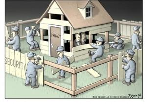 Sikkerhet som tap av personlig frihet