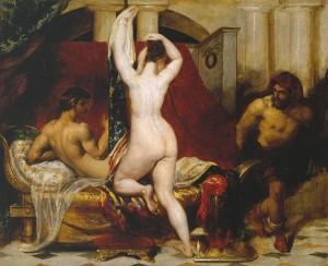William Etty, Gyge og Kongen av Lydia, 1830