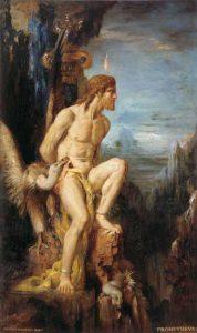 Prometheus som gudens fange